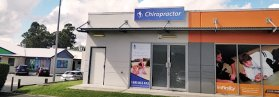 Chiropractic Springfield QLD office building